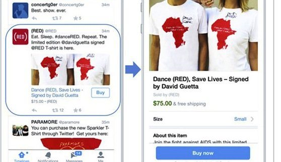Twitter Slowly Wades Into E‑Commerce With 'Buy Now' Button