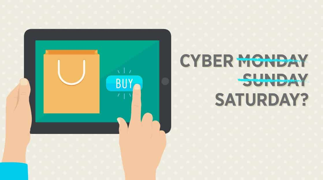 The Rise of Cyber Saturday ‑ 2014 Holiday Season Predictions