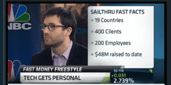 Sailthru CEO Neil Capel Appears on CNBC Fast Money