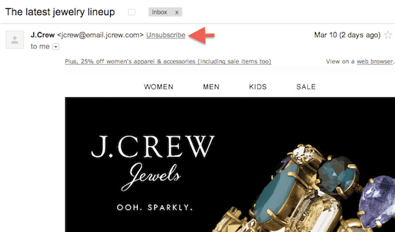 The Plot Thickens: Give Gmail's Omnipresent Unsubscribe Button a Chance