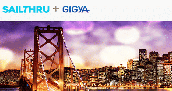Meet Sailthru & Gigya at SF's INMA