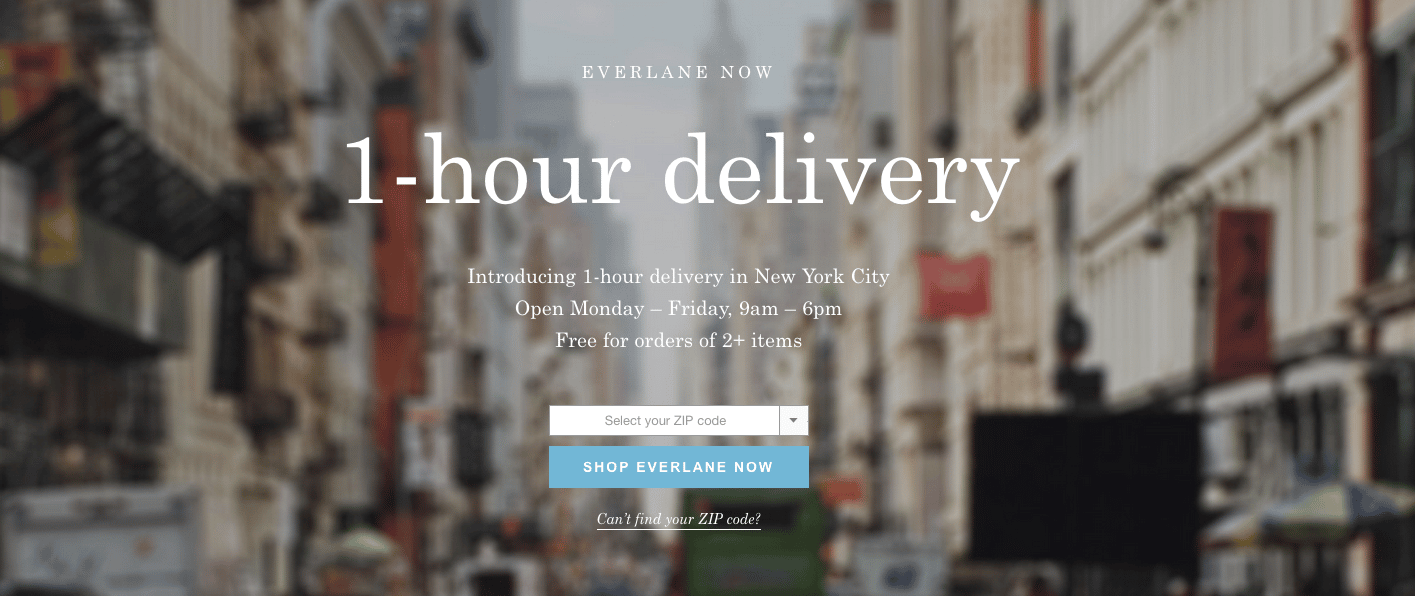 #EverlaneNow: Bridging the Gap Between In‑store & Online Shopping