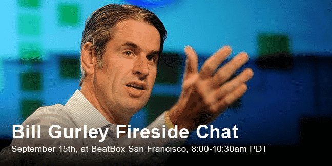 Join Bill Gurley + Sailthru for a Fireside Chat on the Future of Ecommerce
