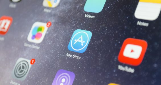 App Store Icon On Apple Deivice Screen