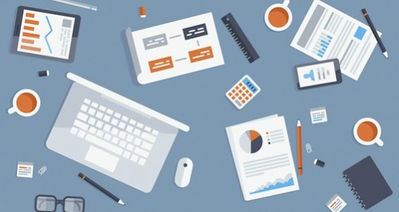Business Meeting Flat Illustration