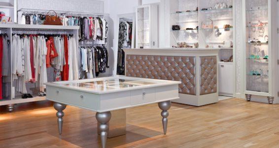 Clothing store interior