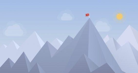 bigstock-Flag-On-The-Peak-Illustration-56844890-2