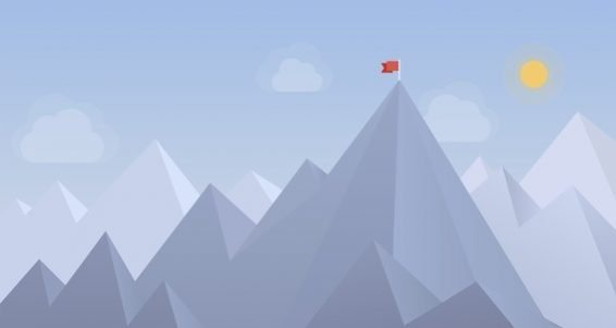 bigstock-Flag-On-The-Peak-Illustration-56844890-2