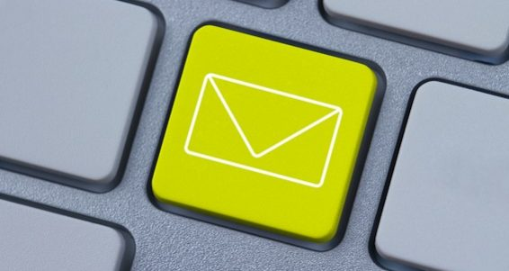 bigstock-Mail-Icon-At-The-Computer-Key-32376440