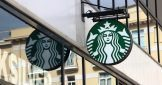 Starbucks Sign In Monaco, La Condamine