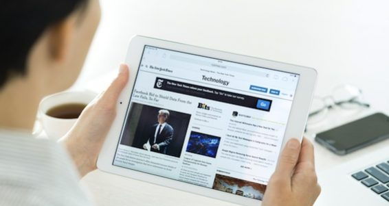 Technology News On Apple Ipad Air