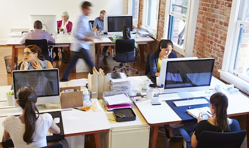 bigstock-Wide-Angle-View-Of-Busy-Design-92607737