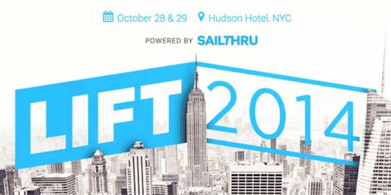 Sailthru Lift 2014 – Introducing The First Sailthru Customer Conference