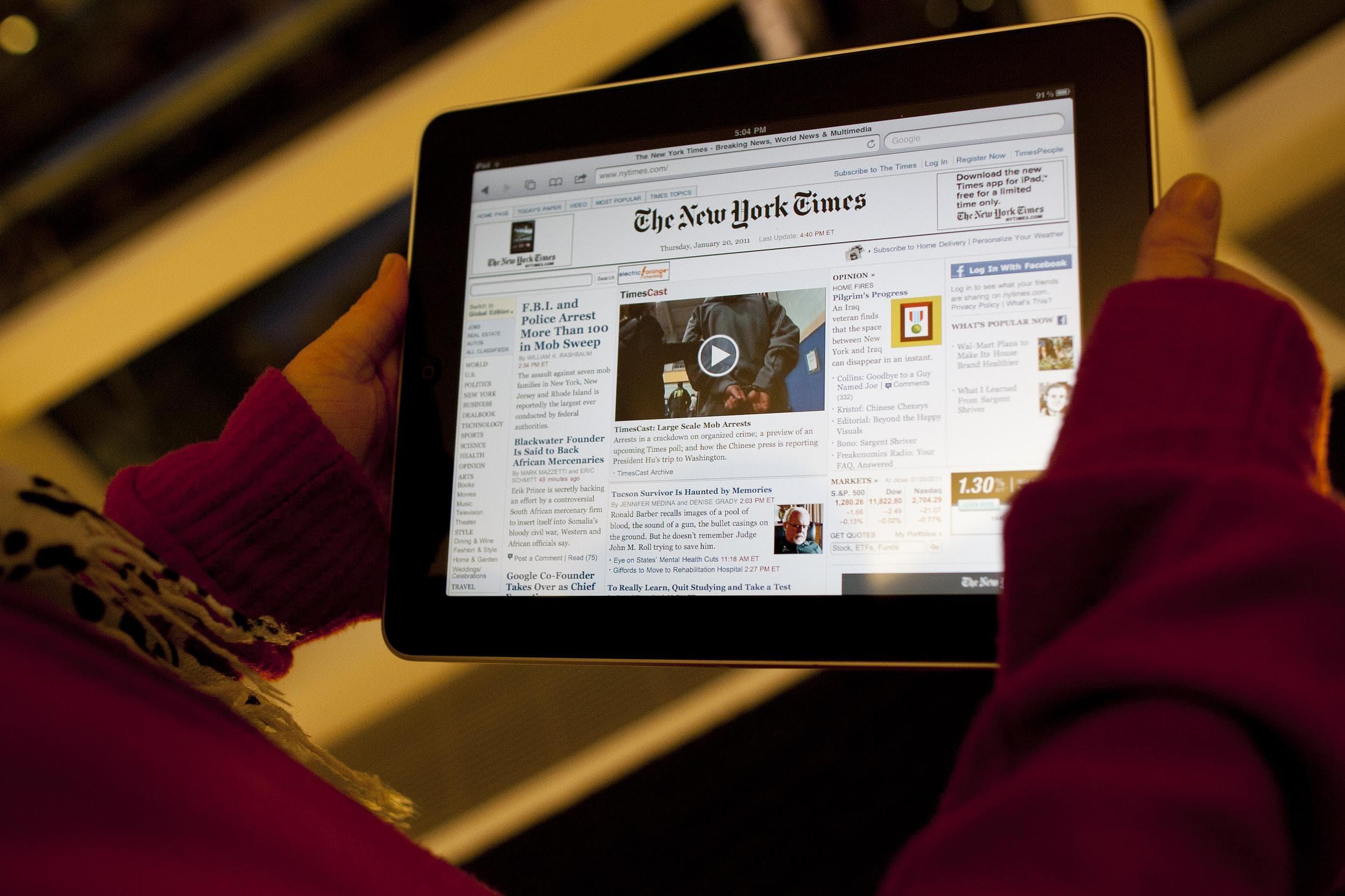 Millions Of Millennials Still Read Traditional Publications