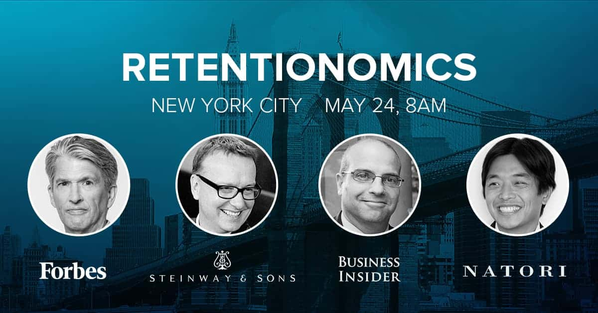 Join Business Insider, Forbes, Natori, and Steinway & Sons for the Retentionomics Exec Forum in NYC