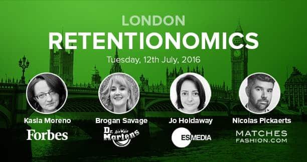 Join Dr. Martens, ESI Media, Forbes, MATCHESFASHION and Sailthru at Retentionomics London