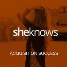 SheKnows Media Acquisition Success