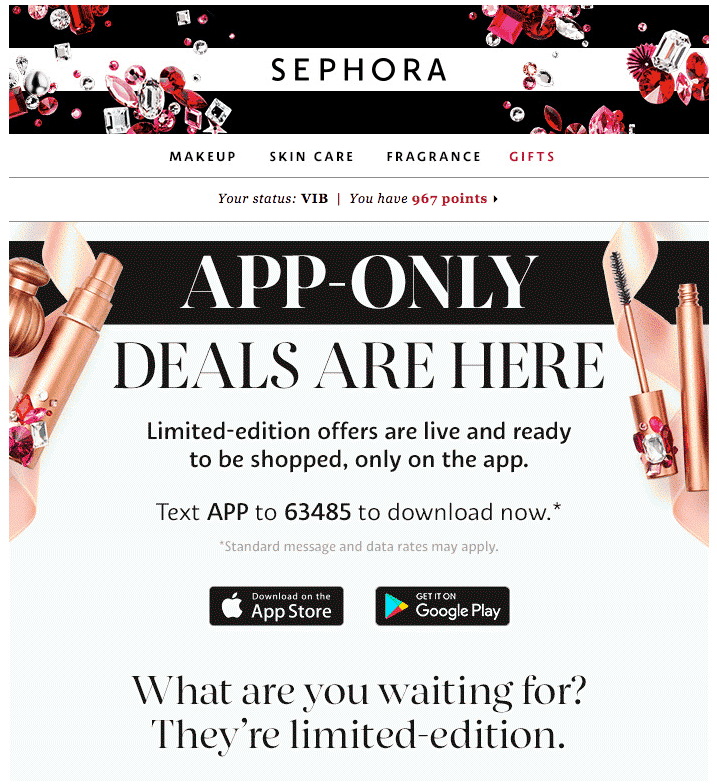 sephora-email-marketing-black-friday