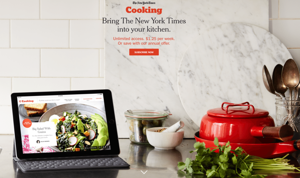 new york times cooking