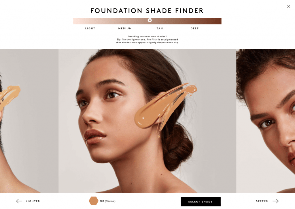 covergirl shade finder