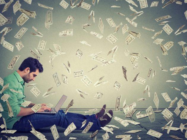 spending money online