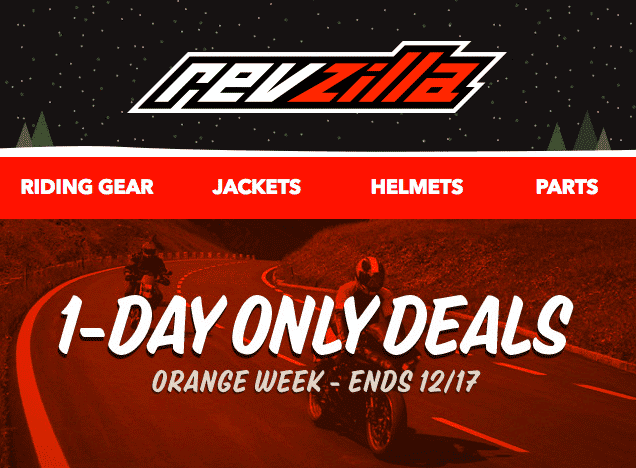 revzilla orange week