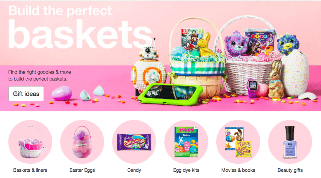 target easter gift guide