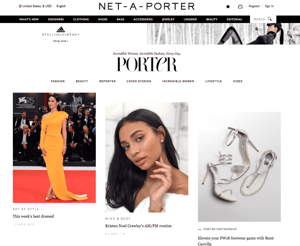Net-a-Porter - Porter Magazine