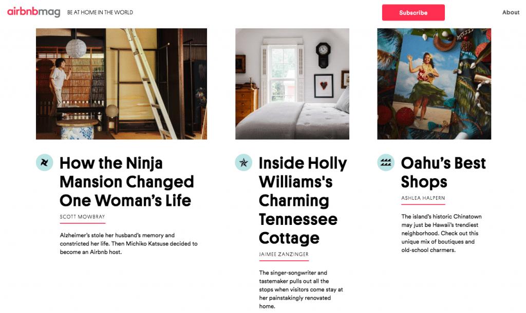 airbnb airbnbmag