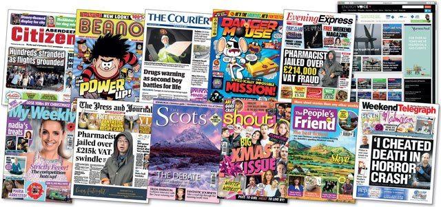 DC Thomson publications