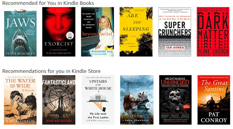 brand loyalty amazon recommendations