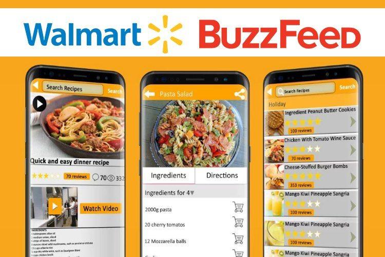 walmart - buzzfeed tasty