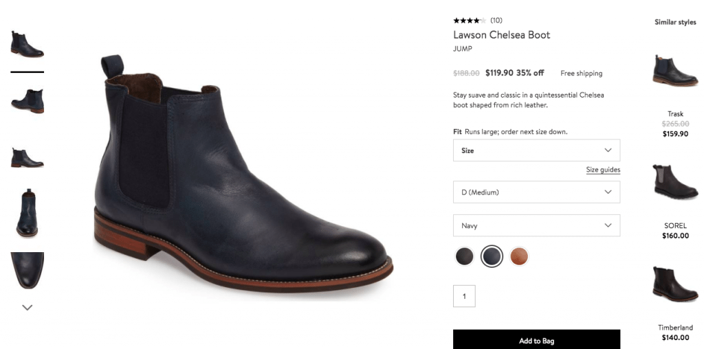 Nordstrom - Collaborative filtering