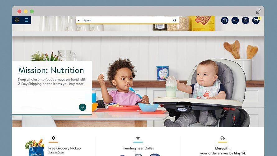 New Walmart.com