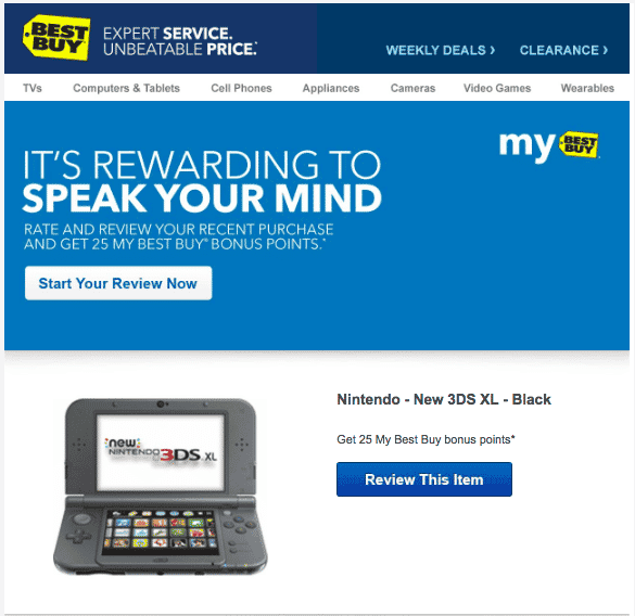Best Buy email