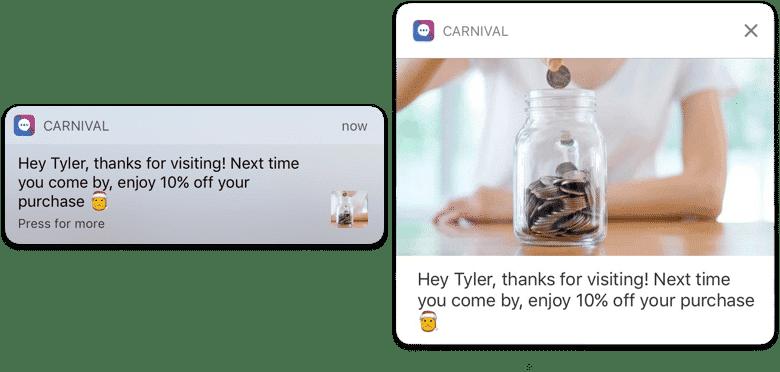 Mobile app retargeting