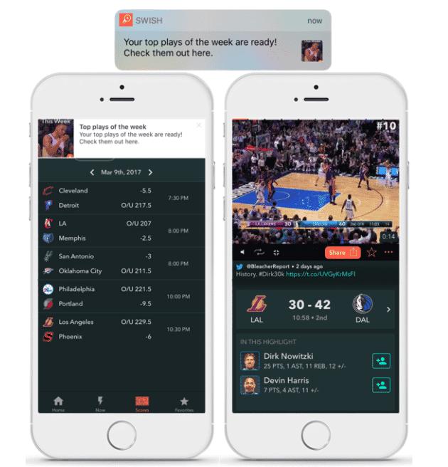 Swish - In-app messaging