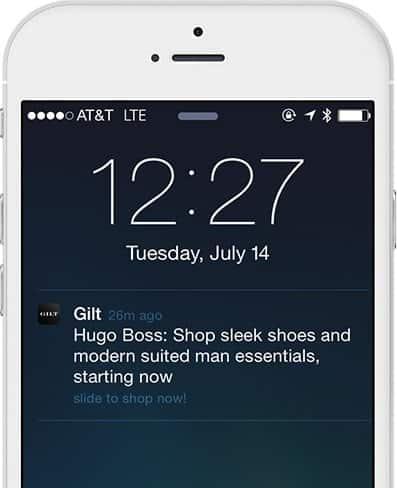 Gilt app