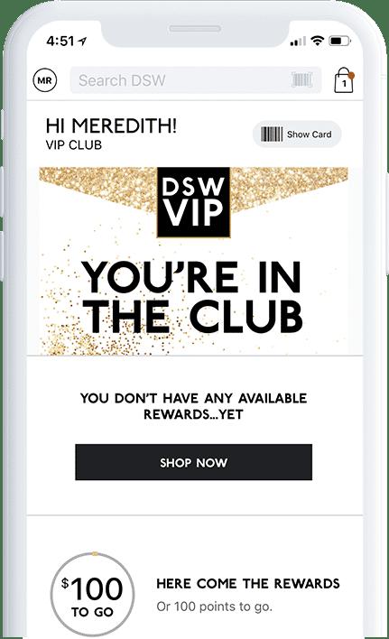 DSW VIP