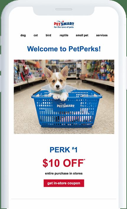 Pet Perks rewards
