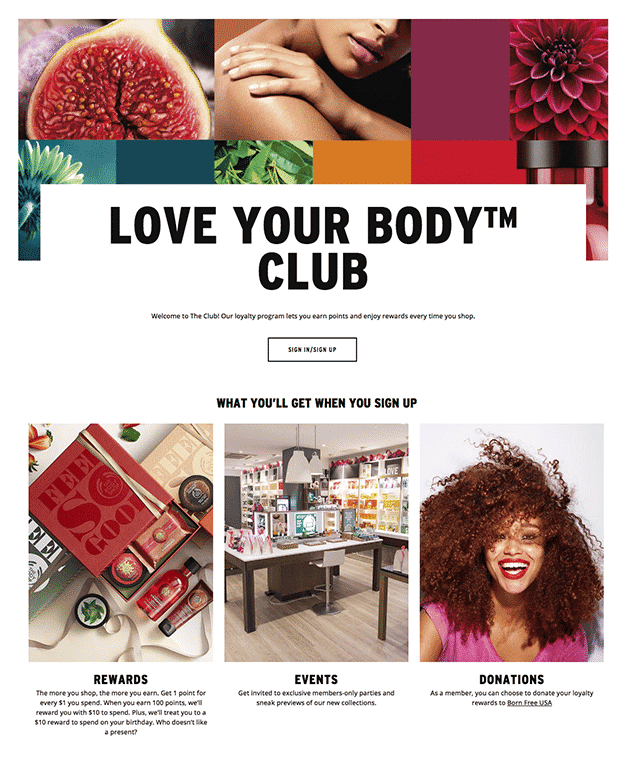 The Body Shop - Love Your Body