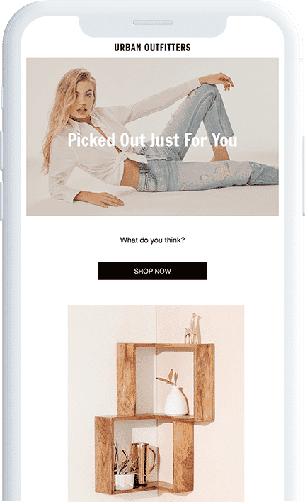 Mobile apps: Urban Outfitters