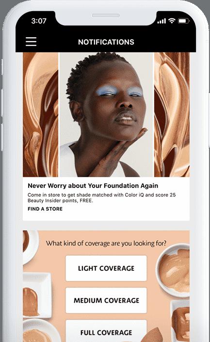 Mobile apps: Sephora