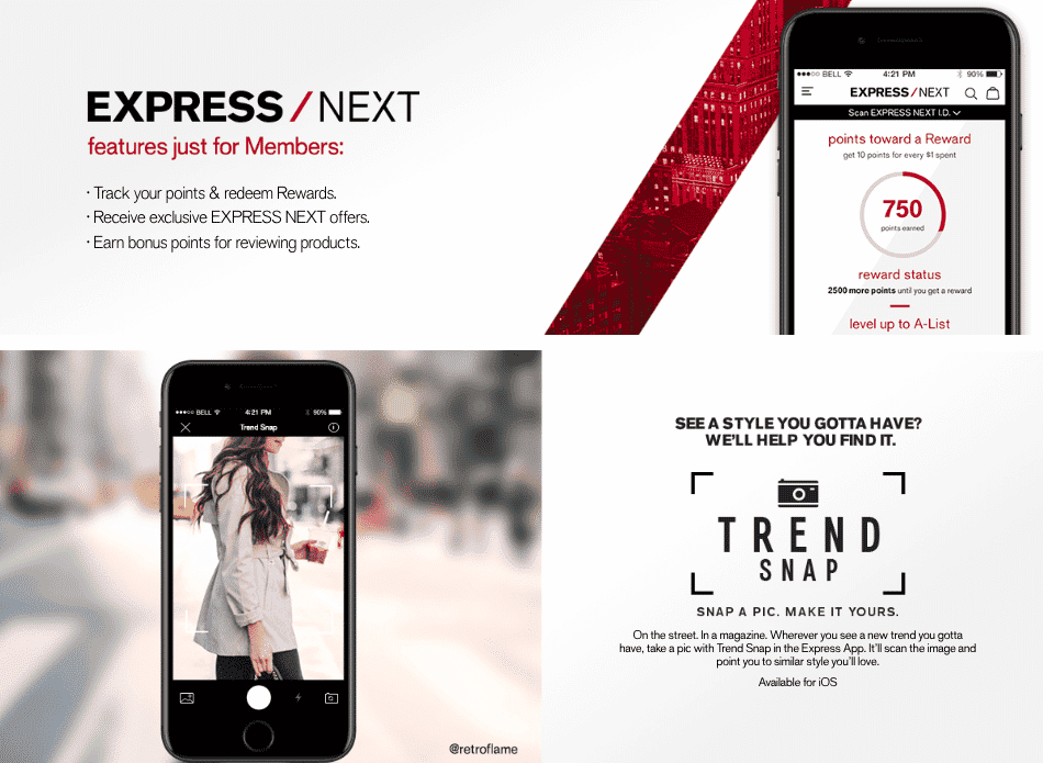 Express mobile app