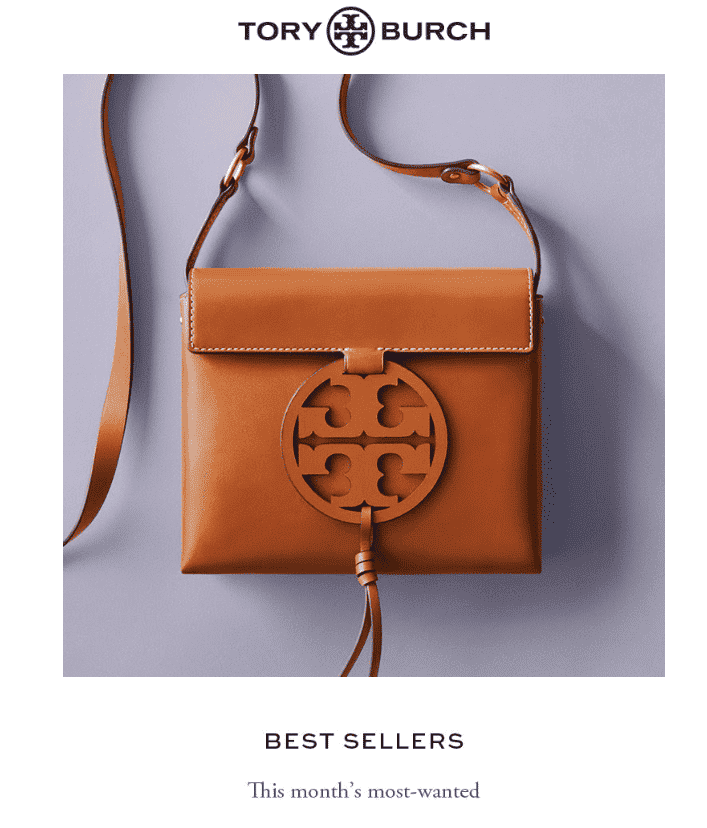 Product Recommendations - Tory Burch