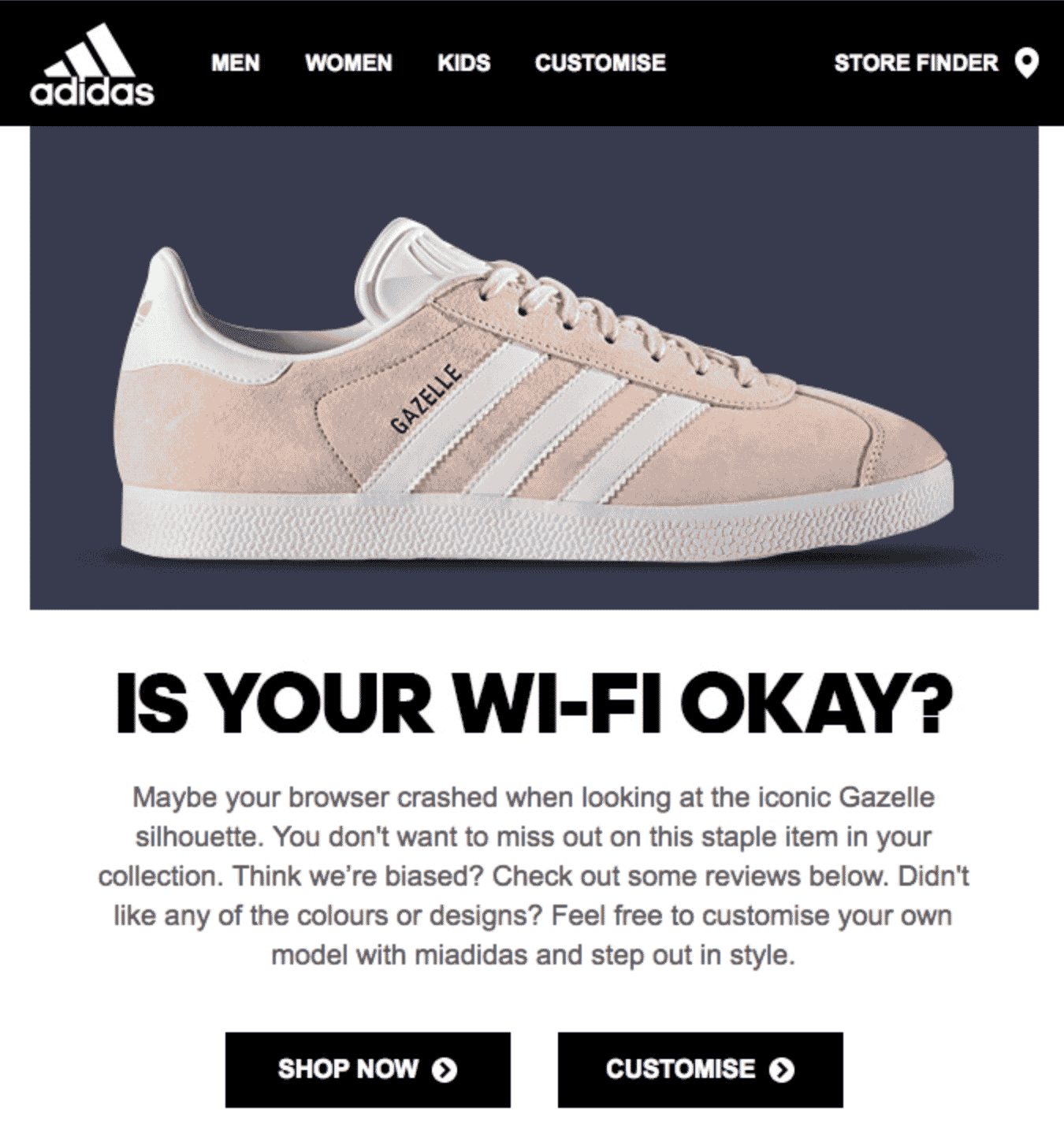 Adidas also acknowledges the elephant in the room 8fada9c827c5