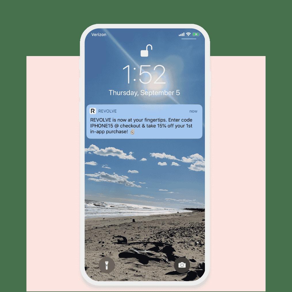 Rich mobile app features