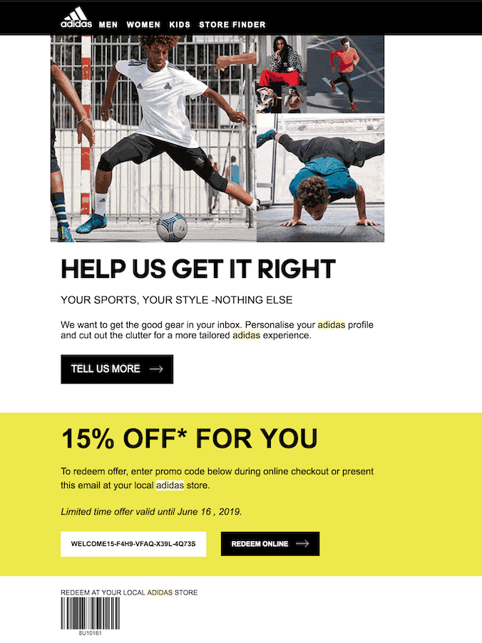 Why Adidas Placed 9th On Sailthru S Retail Personalization Index