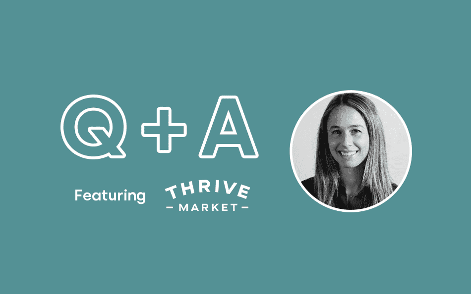 Rethinking Personalization: Q&A with Thrive Market's Lindsay McGovern