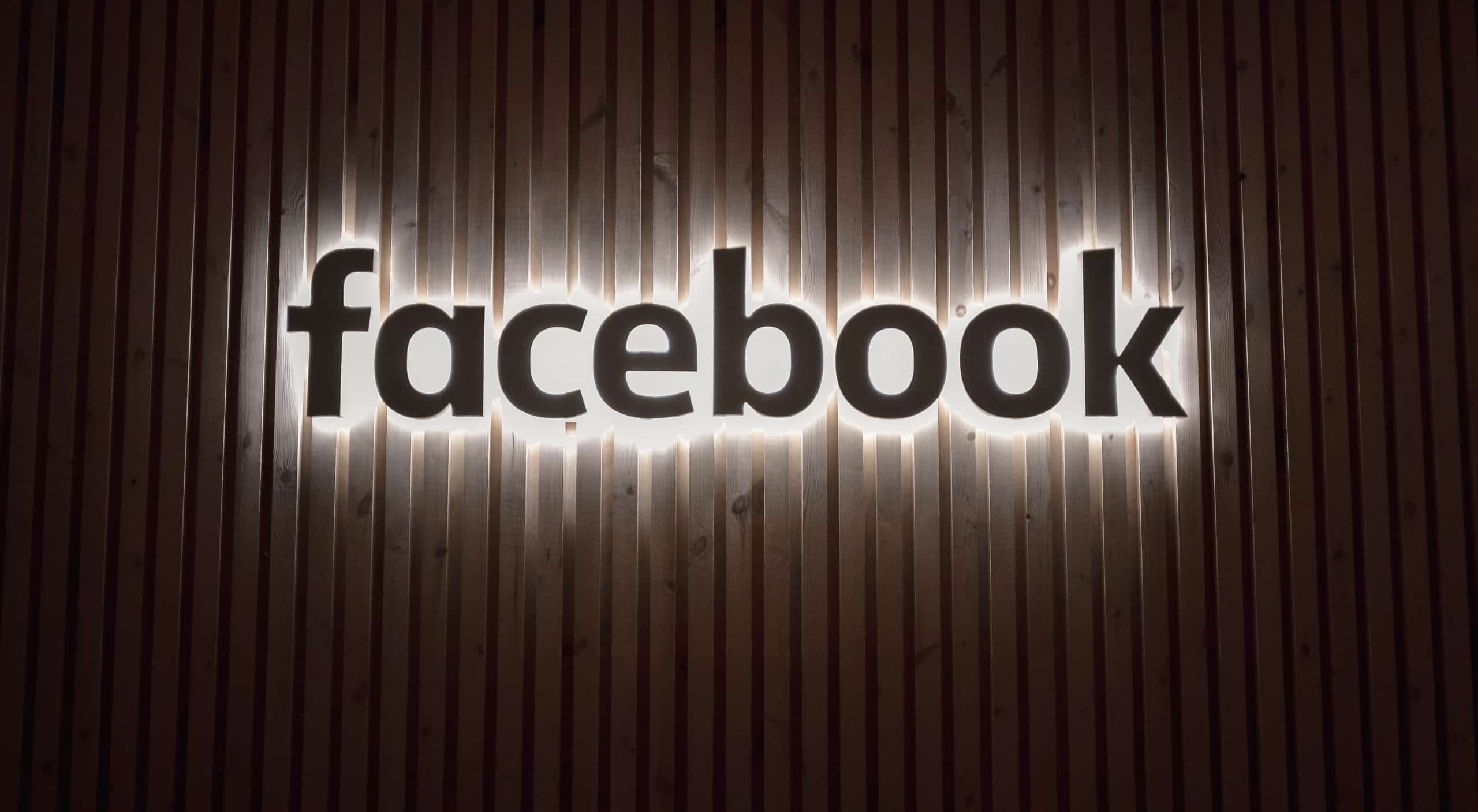 We partner with Facebook.